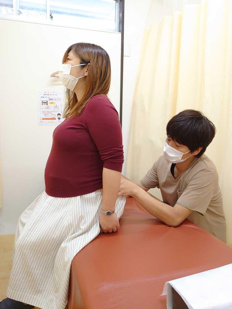 妊婦整体の様子1